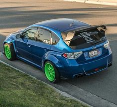 Best Auto Tuning Style : Illustration Description Subaru Impreza #HotHatch