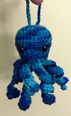 Your place to buy and sell all things handmade Little Octopus, Christmas Tree, Christmas Ornaments, Tentacle, Sailors, Yule, Baby Knitting, Crochet Projects, Knit Crochet