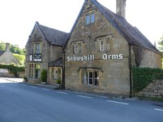 Snowshill Arms pub in Snowshill village - Cotswolds