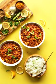 Easy Chana Masala | Minimalist Baker Recipes
