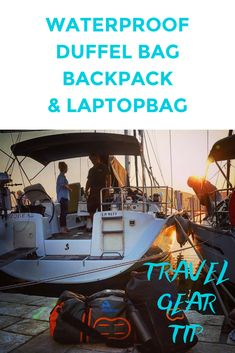 Recommended waterproof travel gear tip for sailing, backpacking, kitesurf downwinders, diving travel. Travel Info, Travel Advice, Travel Guides, Travel Stuff, Travel Tips, Beach Vacation Packing List, Travel Packing, Packing Hacks, Travel Wear