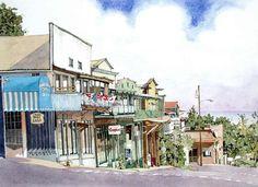 Vineyard Street by Eddie Flotte