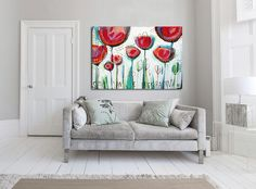 Large giclée print with ABSTRACT print of original painting