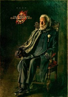 President Snow - Catching Fire Character Portrait
