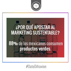 #MarketingSustentable #Marketing #DatoDifraxion #GreenProducts