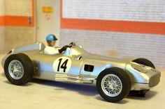 Cartrix 0912. Mercedes W-196. 3° 1955 Great Britain GP. Karl Kling. #slotcar