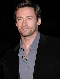 Hugh Jackman. I couldn't forget him. He's Wolverine!