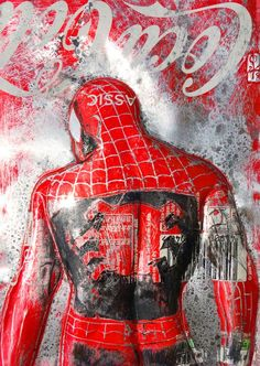 Coca Cola Wallpaper, Pop Art Wallpaper, Watch Wallpaper, Cartoon Wallpaper, Sign Printing, Street Art Graffiti, Recycled Art, Urban Art, Spiderman