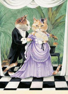 """Diary of a Victorian Cat"" par Susan Herbert"