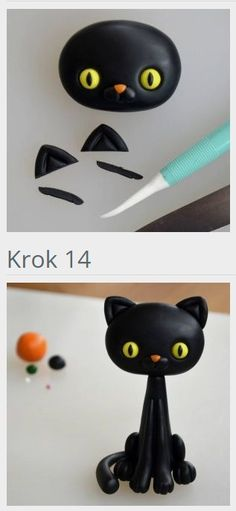katzen tutorial fondant pinterest fondant katze. Black Bedroom Furniture Sets. Home Design Ideas