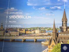 Een stad gemaakt van 14 kleine eilanden, ontdek de mooi geplaveide straten en de Scandinavische flair in #Stockholm. #MSCMusica