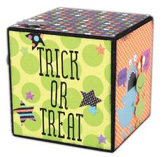 Today I have a quick and easy project to share with you on our Creepy Crafts Countdown. For this project we used one of our square. Wood Block Crafts, Wood Blocks, Wood Crafts, Easy Projects, Wood Projects, Craft Projects, Halloween Photos, Halloween Fun, Valentine Crafts