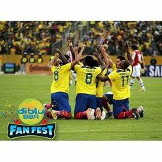 @radiodiblu Llegó el día señoras y señores! HOY JUEGA LA TRI y tu lo vivirás en el Diblu Fan Fest. Te esperamos desde las 11:00 en la explanada del centro de convenciones ven  Ecuador vs Bolivia (16:00). ENTRADA GRATIS.