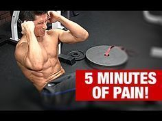 Ab Workout in One Exercise (5 MINUTE ABS!) - YouTube