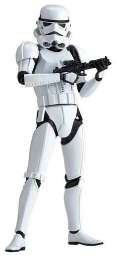 Figure Complex Star Wars Revoltech Stormtrooper Action Figure from Japan F/S #FigureComplex
