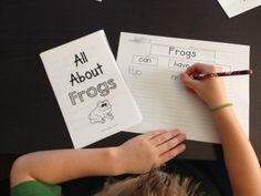 Informational Text Unit on Frogs - No Prep Needed - and Link to a FREEBIE!