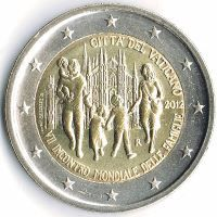 Auflagen und Bewertung der EURO - Sondermünzen des #Vatikan / Values of commemorative #coins of #Vatican: http://sammler.com/mz/euro_sondermuenzen_vatikan.htm