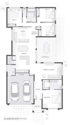 Single Storey Home Design | The CEBEL at Adenbrook Homes