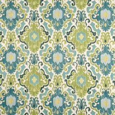 Swavelle / Mill Creek Toroli Aqua Fabric