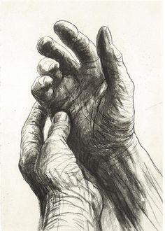◆手、ヘンリームーア