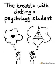 #psychology #funny #amusing the problem eith dating a psychology student.