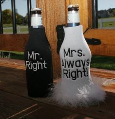engagement gift koozie.....would ABSOLUTELY love these.
