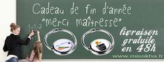 Cadeau de fin d'année pour une super maîtresse. Livraison gratuite en 48H... n'hésitez plus ! www.misskha.fr #CadeauMaitresse #IdéeCadeau Bag