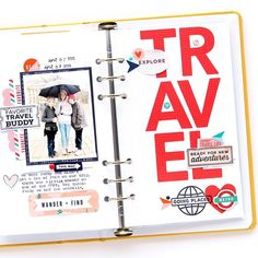 Are you working on travel or vacation pages? These stamps and dies will help you make amazing layouts, pocket pages, and traveler's notebook projects too! Pocket Scrapbooking, Scrapbook Pages, Scrapbook Layouts, Vacation Memories, Vacation Trips, New Travel, Travel With Kids, Travel Stamp, Travel Album