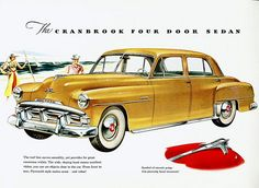 1951 Plymouth Cranbrook Four Door Sedan by aldenjewell, via Flickr