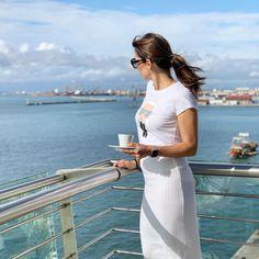 "Titi Velopoulou on Instagram: ""Enjoying the morning view from my balcony! * * * |#idiscover #Thessaloniki #Daiosluxuryliving #hotel #beatgreekhotels #suite #hospitality…"" Morning View, Thessaloniki, Hotel S, Best Hotels, Hospitality, Balcony, White Dress, Instagram, Terrace"