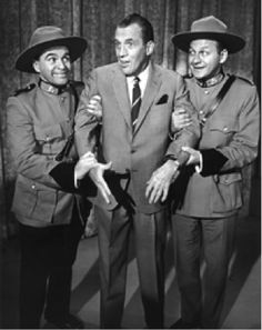 Wayne and Shuster appeared on the Ed Sullivan show 58 times. Haven't seen a re-run of theirs in years, so not sure how well their comedy might have aged, but i've got some fond memories of them nonetheless...