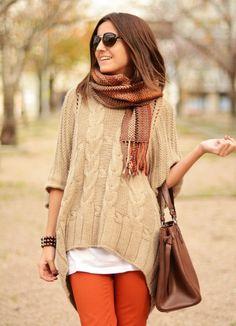 модные луки осень 2014 7