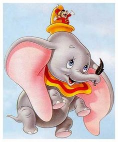 Will Dumbo fly on the Great White Way? A Broadway musical version of the animated 1941 Disney movie about a baby elephant is in the works, according t Disney Pixar, Disney Animation, Disney Amor, Arte Disney, Disney Love, Disney Magic, Dumbo Disney, Disney Kunst, Disney Addict