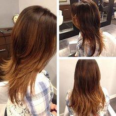 layered haircut for thin hair