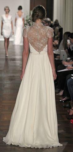 #JennyPackham #Wedding Dress - Dentelle