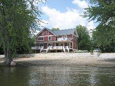 Lake Champlain Alburgh Lake Front Rental - Luxurious Post & BeamVacation Rental in Alburg from @homeaway! #vacation #rental #travel #homeaway