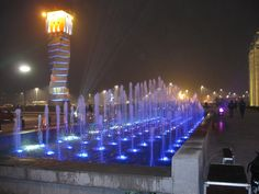 3 Program Control Fountains located in Suceava City, Romania_No.2 (December of 2008)