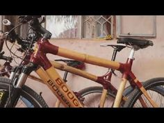 In Uganda, entrepreneur Noordin Kasoma fixes and creates bikes out of bamboo, his brand is called Boogaali 🇺🇬.