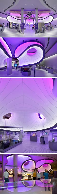 Zaha Hadid Architects has completed the new mathematics gallery for London's Science Museum, which is modelled on a wind tunnel for a 1920s plane.