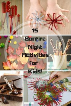 After covering Halloween last week I thought I'd move right on to Bonfire Night. I love Bonfire night, I do think it should just be kept to one night though as there seems to be many differen… Bonfire Night Treats, Bonfire Night Activities, Bonfire Night Food, Party Activities, Autumn Activities, Activities For Kids, Bonfire Parties, Group Activities, Bonfire Crafts For Kids