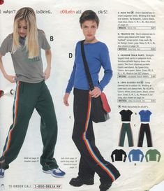 I had the black ranbow striped pants and blue top. It was my favorite. Wish I still had it.