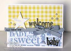 Welcome Baby Card - Scrapbook.com