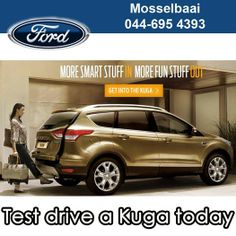 Looking for the luxury of a sedan with the space of a station wagon? Then you have to test drive a KUGA. Mosselbaai Ford & Mazda bringing you the best deals on our range of vehicles. #spaciousdriving #luxuryvehicles #lifestyle