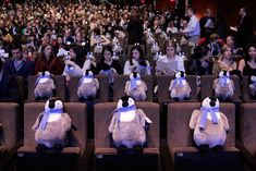 The Discovery Channel feted its new documentary, Frozen Planet, in New York in 2012 with a playful branded touch...