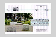 Wedge & Lever (2013): Color Magazine Redesign, via behance.net