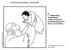 Années A, B, C : un dessin de Kieffer pour le dimanche de la Présentation du Seigneur au Temple