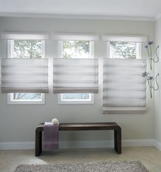 Brighten up your room with window treatments!