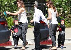 Jennifer Garner Takes Off Her Wedding Ring, Picks Up Her Son From Church in Brunello Cucinelli Sandals