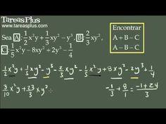 Operaciones combinadas de suma y resta con polinomios y monomios 2