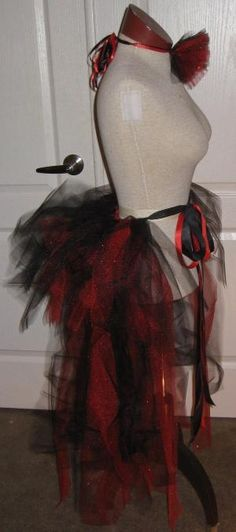 Victorian Pirate TuTu, Adult TUTU, Princess, birthday, costume and ready to ship. $55.00, via Etsy. by rubberstamp